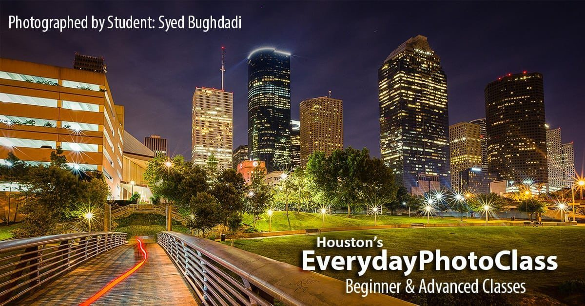 Photography Classes | Houston's EverydayPhotoclass