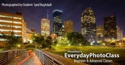 Houston Skyline Photography classes and excursions