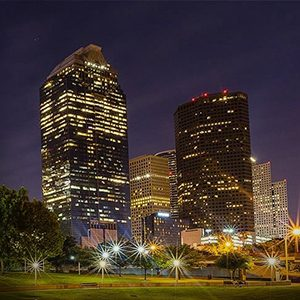 Downtown Houston at Night EXCURSION